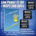 Analog Devices представила три 12-разрядных АЦП: AD7091R-2, AD7091R-4 и AD7091R-8 (рис.1)